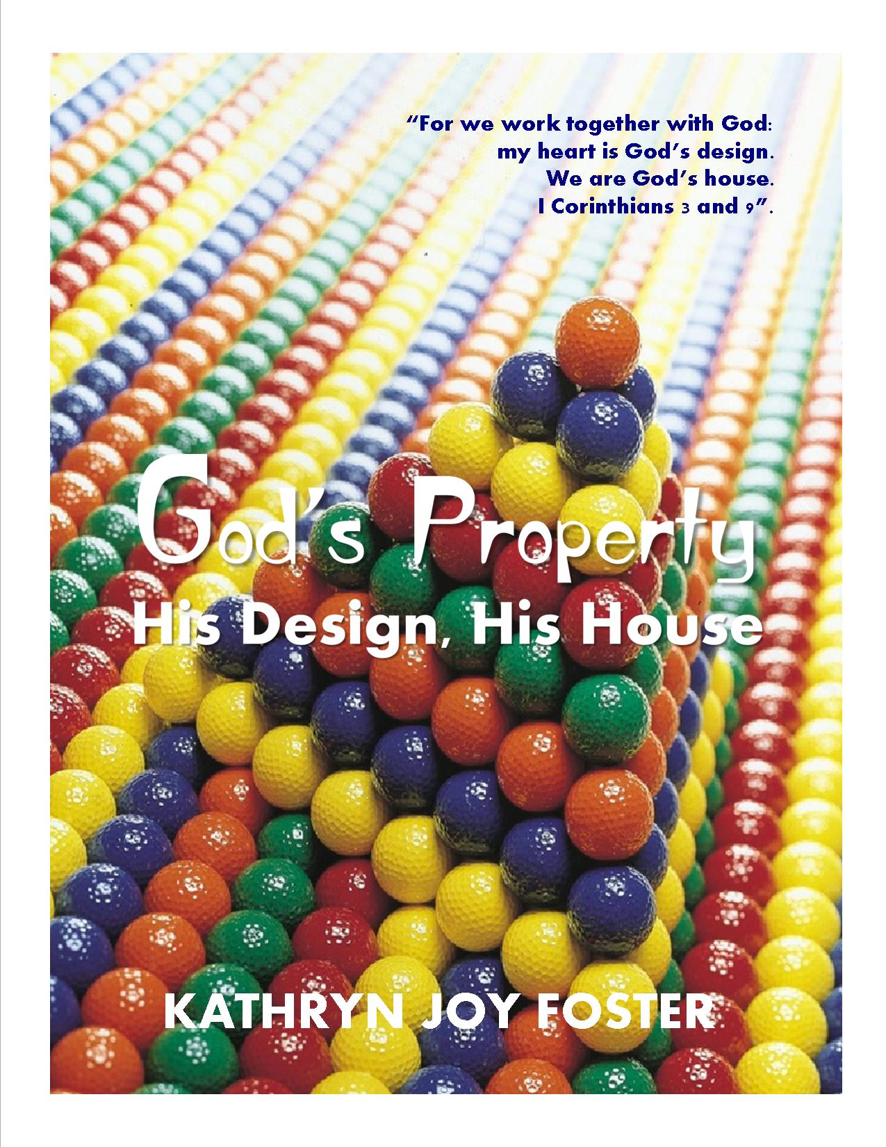 God's Property Front Cover Design